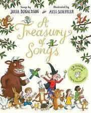 Julia Donaldson: A Treasury of Songs H/B Book with CD - NEW
