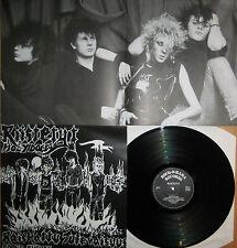 MINT Vinyl LP Riistetyt - Raped Future Rock o Rama LP mit Poster oi punk KDB