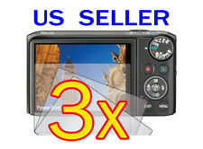 3x Canon PowerShot SX260 HS Camera LCD Screen Protector Cover Guard Shield Film