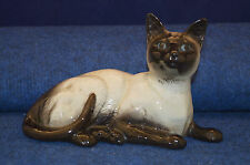 Lovely Vintage Beswick Beswick Siamese Cat Lying Down No 1559 USC RD4977