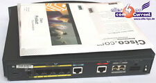 ISDN DSL ROUTER CISCO 804 OVP software cavi refurbisc