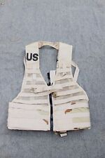 US MILITARY FLC FIGHTING LOAD CARRIER TACTICAL VEST MOLLE II 3 COLOR DESERT TAN