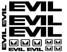Evil Bike Universal Decals Set 14 DH MTB Covert Bandit Blindside Freeride