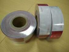"Conspicuity 2""x50' APPROVED DOT C2 FMVSS 108 Reflective Truck Trailer ATV Tape"