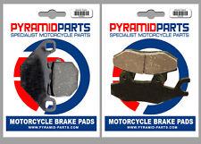 Aprilia SX 50 Ltd. 2014 Front & Rear Brake Pads Full Set (2 Pairs)