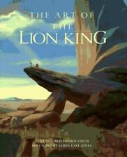 The Art of The Lion King (Disney Miniature Series) by Finch, Christopher, Good B
