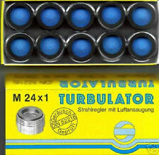 10 St. Strahlregler, Luftsprudler mit Luftansaugung M 24x1 AG mit Prüfzeichen