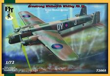 Armstrong whithworth whitley mk. iii, british bombardier moyen, fly 72005, échelle 1/72