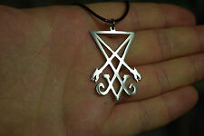 Seal of Lucifer Luciferian Necklace Satan Sigil Key Chain Necklace Pendant
