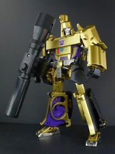 Transformers Masterpiece 30th MP-05G Gold Megatron 100% New Loose No Box