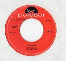 """Fat Mattress - Naturally 7"""" Single 1969"""