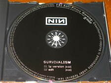 NINE INCH NAILS - Survivalism - 2 Track DJ PROMO CD w/ EDIT! RARE! NEW! NIN
