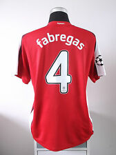 Cesc FABREGAS #4 Arsenal Home Football Shirt Jersey 2008/09 (L)