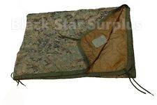 "USMC Military Poncho Liner ""Woobie Blanket"" Reversible MARPAT Camo/Coyote"