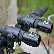 2X 2000LM Q5 Bicycle Light LED Zoomable Bike Bicycle Front Lamp+Mount+Holster