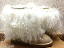 UGG CLASSIC SHORT SHEEPSKIN CUFF SAND / NATURAL US 6 / EU 37 / UK 4.5 - NIB