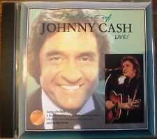 JOHNNY CASH: PORTRAIT. LIVE ALBUM!  CD. EXCELLENT CONDITION. UK DISPATCH
