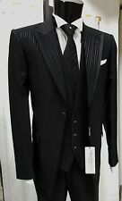 ABITO  SPOSO T. 48 FIRMATO CARLO PIGNATELLI SUIT GROOM WEDDING DESIGNER