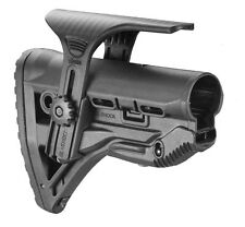 GL-Shock CP Fab Defense Black Shock Absorbing Buttstock With Cheek Piece