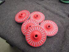 3m Bristle Disc, 4.5 In Dia, 3/4 In Trim, 36 Grit, 5/8 arbor, 5 pc