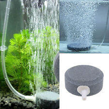 New Air Bubble Disk Stone Aerator Aquarium Fish Tank Pond Pump Hydroponic Oxygen