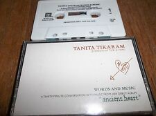 Tanita Tikaram Words And Music Ancient Heart Cassette Promotional Rare