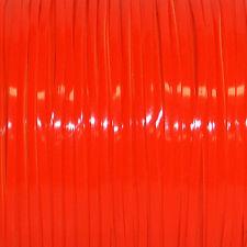 100 YARDS (91m) SPOOL NEON ORANGE REXLACE PLASTIC LACING CRAFTS CYBERLOX