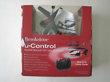 Brownstone, U control, silver bullet rc helicopter for parts or repair