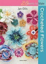 Crocheted Flowers (Twenty to Make)-ExLibrary
