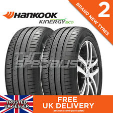 2x NEW 205 55 16 HANKOOK KINERGY ECO K425 91V 2 TYRES 205/55R16 'A' WET GRIP