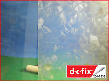 DC FIX Transparent 1m x 45cm Self Adhesive Vinyl Contact Paper Privacy Film 2535