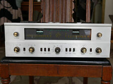 THE FISHER 800-B MULTIPLEX AM - FM STEREO VINTAGE TUBE RECEIVER ORIGINAL TUBES