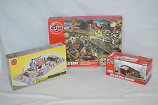 Airfix A50009 Battlefront & A03381 Foward Command Post & A75001 European Kits