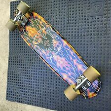 Slalom Skateboard complete Pocket Pistols Turner Tracker foam core custom 32""