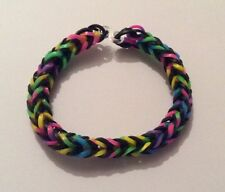 Multicolore Loom Band Braccialetto