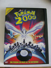 Pokemon 2000 Promotional Not For Resale DvD -CIB-