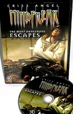 Criss Angel Mindfreak:The Most Memorable Episodes DVD, NEW! ESCAPES, MAGIC, A&E