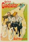 AP21 Vintage French Paris Cycles Gladiator Bike Advertisement Poster A1/A2/A3/A4