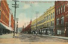 Oneonta NY * Main St. Looking North  1915 * Ostego Co.