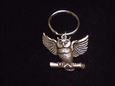 FANTASTIC  HARRY POTTER METAL KEY CHAIN HEDWIG OWL