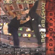 Sabotage Master Joe & Og Black MUSIC CD