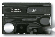 0.7333.T3 VICTORINOX BLACK SWISSCARD CREDIT CARD KNIFE VI53333 53333 07333T3 NEW