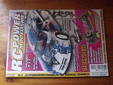 $$a Revue RC Power Modelisme N°28 Mugen MTX3  Pieces en carbone  Echappements