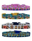 Handmade blue white pink Minions chihuahua dog puppy collar or collar & lead set