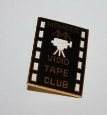 Member Vidio tape club pin/ele