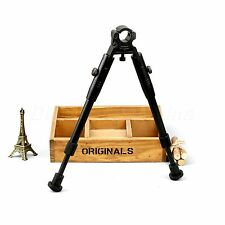 """9"""" - 11'' Adjustable Spring Scope Bipod Hunting Rifle 19mm to 25mm Barrel Clamp"""