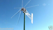 "WIND TURBINE 2000W COMMANDER DUAL 2.5"" 7 BLADE CLEAR 24 VAC 3 WIRE 74""  8.4 kWh"