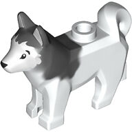 LEGO Loose Parts Animal / Pet Arctic White Dog Husky NEW
