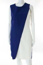 Christian Dior Multi-Color Silk Sleeveless Solid Dress Size 40 $3400 New 097397