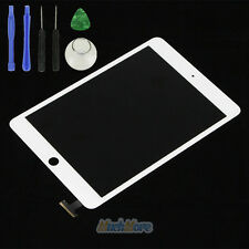 White Front Panel Touch Glass Digitizer Screen Replacement for iPad mini+Tools